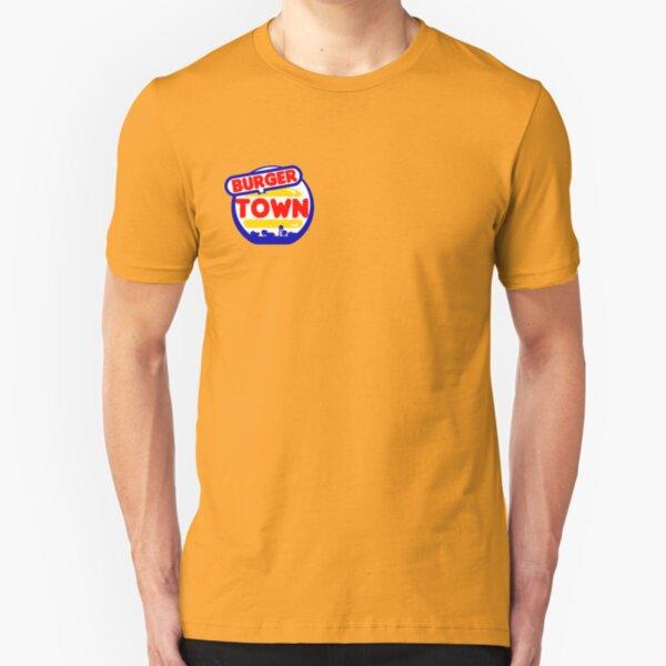 Burger Town Slim Fit T-Shirt