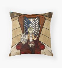III The Empress - Christa Renz Throw Pillow
