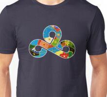 Origami Cloud 9 / Kimono Unisex T-Shirt