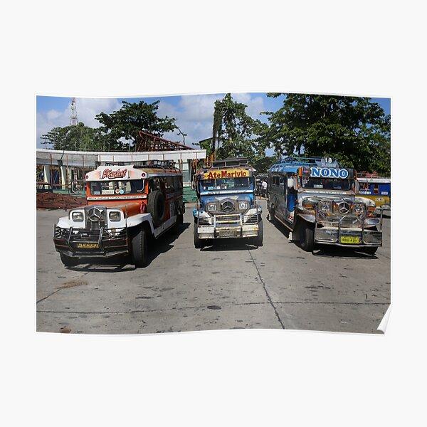4628 Jeepneys Poster