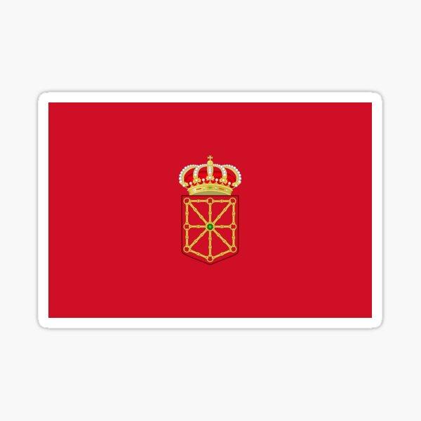 Pegatinas, regalos y otros productos de la bandera de Navarra Pegatina