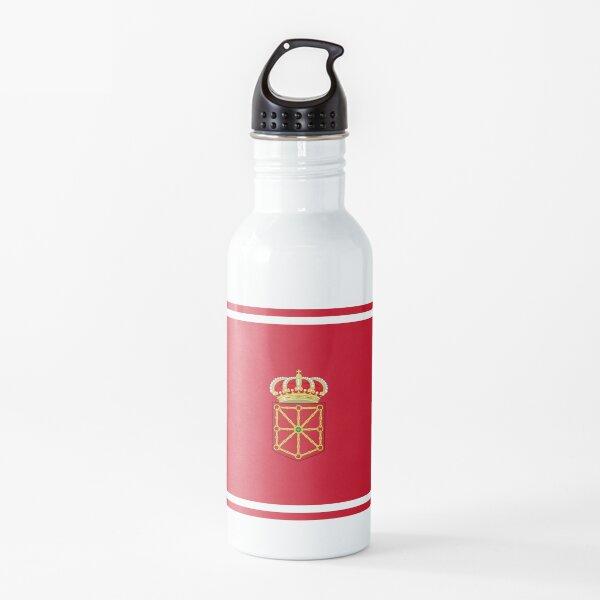 Pegatinas, regalos y otros productos de la bandera de Navarra Botella de agua