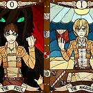 The Fool and The Magician by legendaryarmor