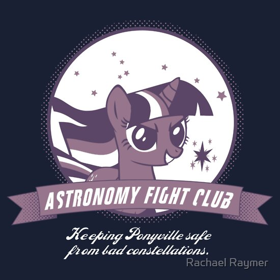 TShirtGifter presents: Twilight Sparkle's Astronomy Fight Club