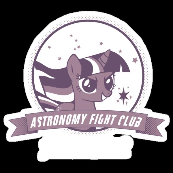 Twilight Sparkle's Astronomy Fight Club by Rachael Thomas