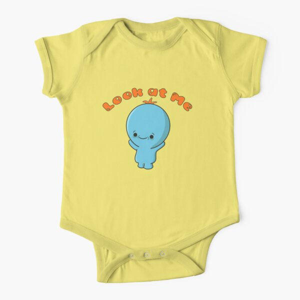Rick and Morty Baby Meeseeks Look At Me Short Sleeve Baby One-Piece
