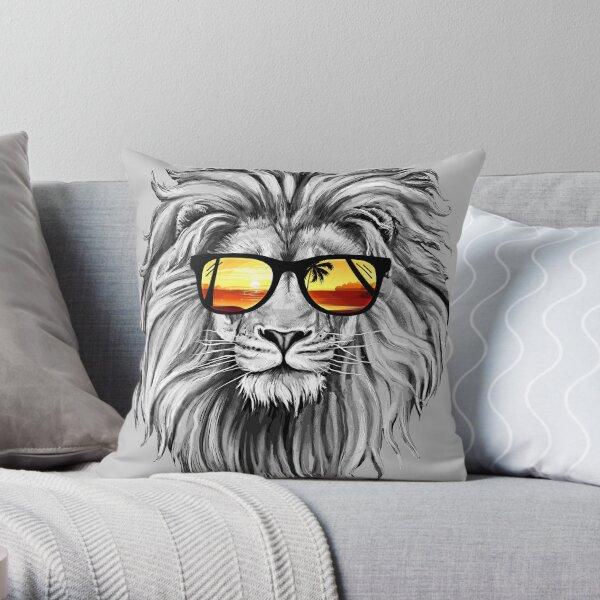 León de verano Cojín
