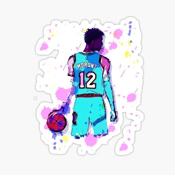 Ja Morant P2 Sticker