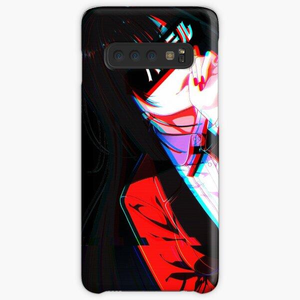 """CRIMSON"" - Aesthetic Cyberpunk Kakegurui Design Samsung Galaxy Snap Case"