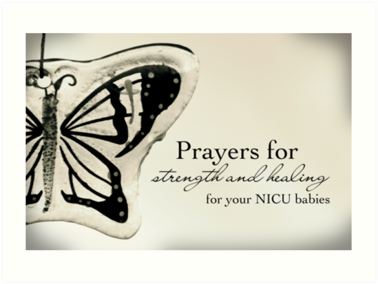 Prayers for NICU Babies by Franchesca Cox