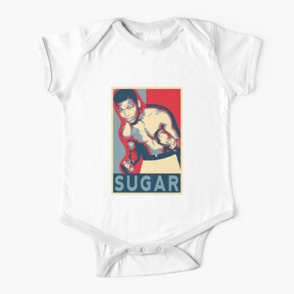 Sugar Ray Robinson, Short Sleeve Baby One-Piece