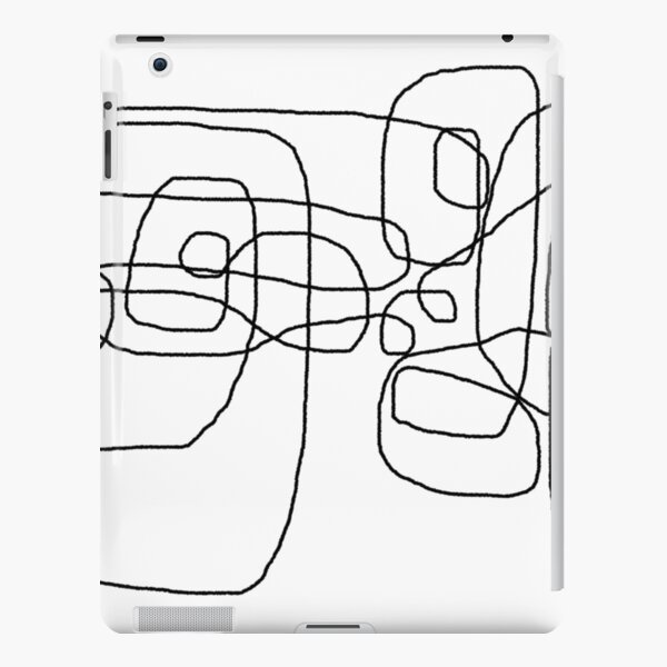 Tangled mess iPad Snap Case