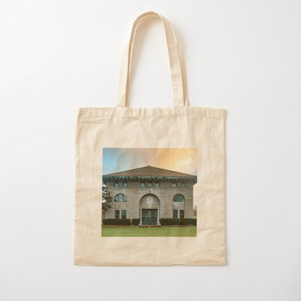 Rankine Power Station Exterior Brick Facade Cotton Tote Bag