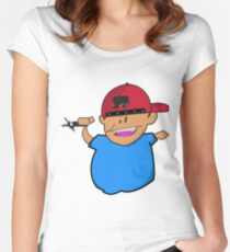 Kid Tagger Women's Fitted Scoop T-Shirt