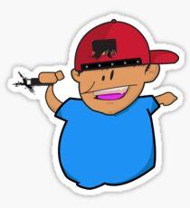Kid Tagger Sticker