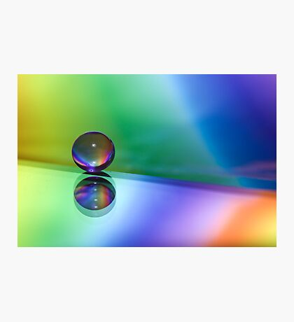 Rainbow Orb Photographic Print