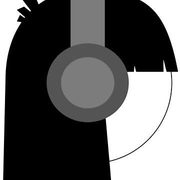 Headphones by violetcold