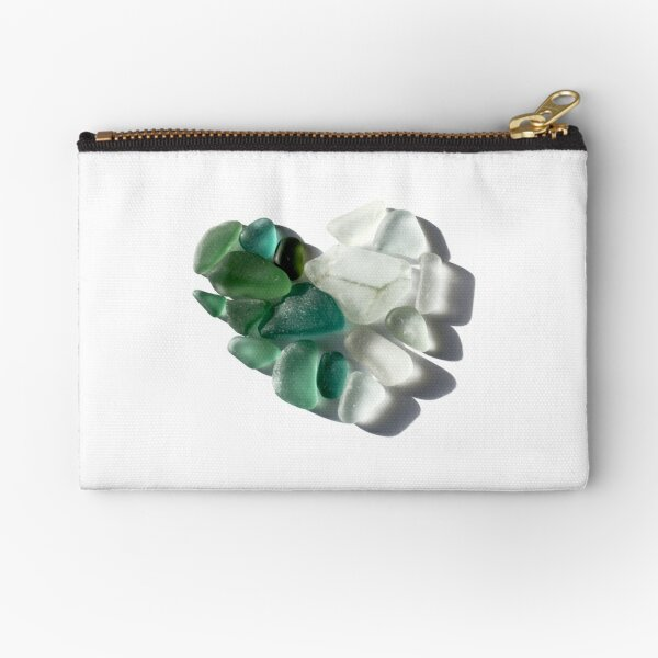 heart of Glass Zipper Pouch