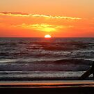 Watching The Sun Go Down. by Samantha Higgs