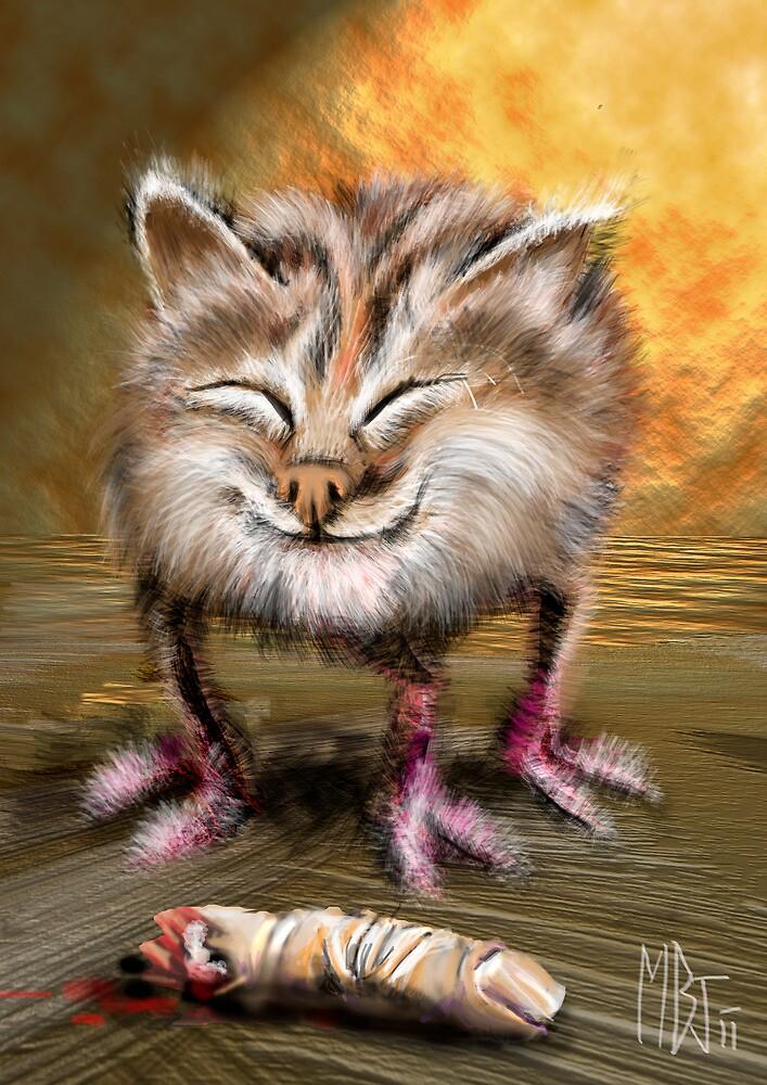 Kitty Thing by Matt Bissett-Johnson