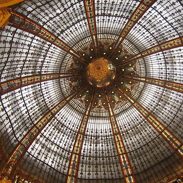 At the LA FAYETTE mall, Paris city by fladelita