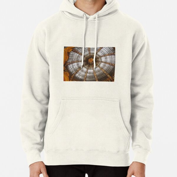 At the LA FAYETTE mall, Paris city Pullover Hoodie