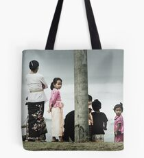 the beach offering Tote Bag