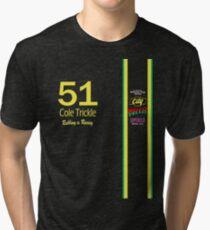 Cole Trickle Days of Thunder Rubbin is racin Tri-blend T-Shirt
