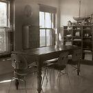 kitchen table by Tony Kearney