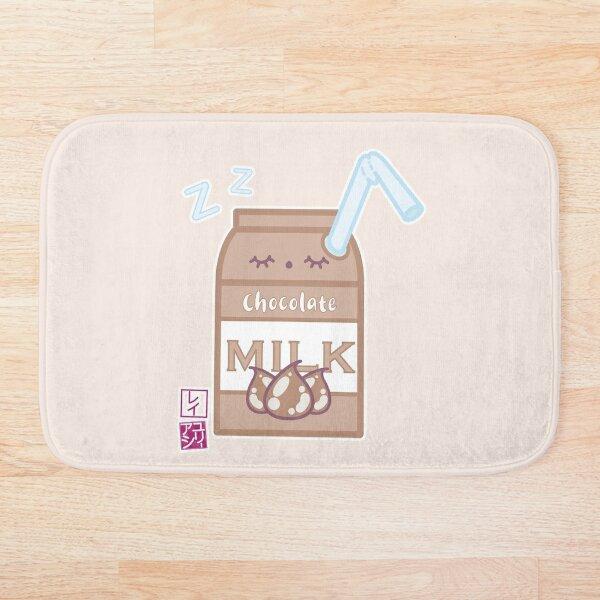 Kawaii Chocolate Milk Bath Mat
