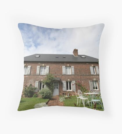 Les Vallees Throw Pillow