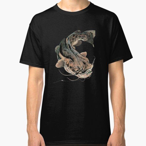 Flathead Catfish Fishing Classic T-Shirt