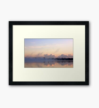 This side of the rainbow Framed Print