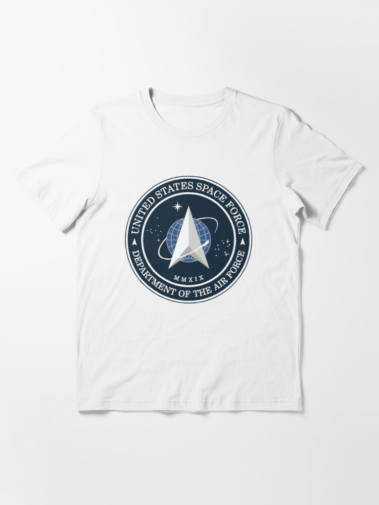 Alternate view of Model 77 - Space Force Essential T-Shirt
