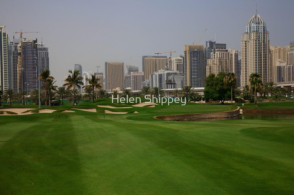 Emirate Golf Club, Dubai by Helen Shippey