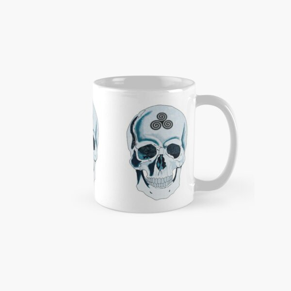 Skull with Celtic Design Classic Mug