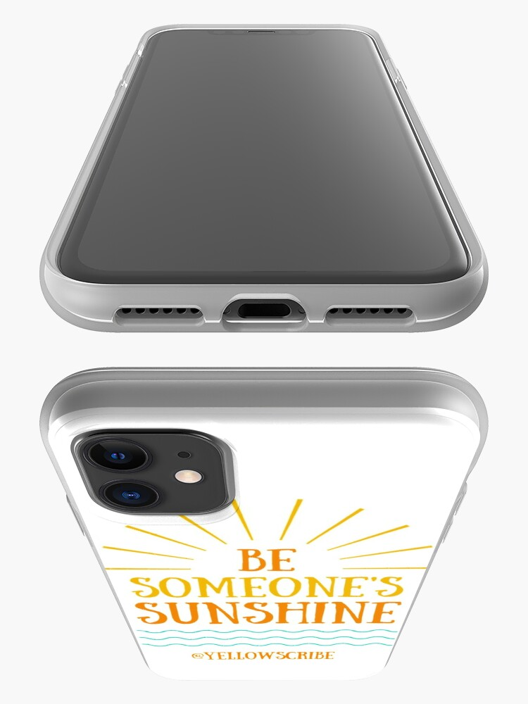 Alternate view of Be Someone's Sunshine by YellowScribe iPhone Case & Cover