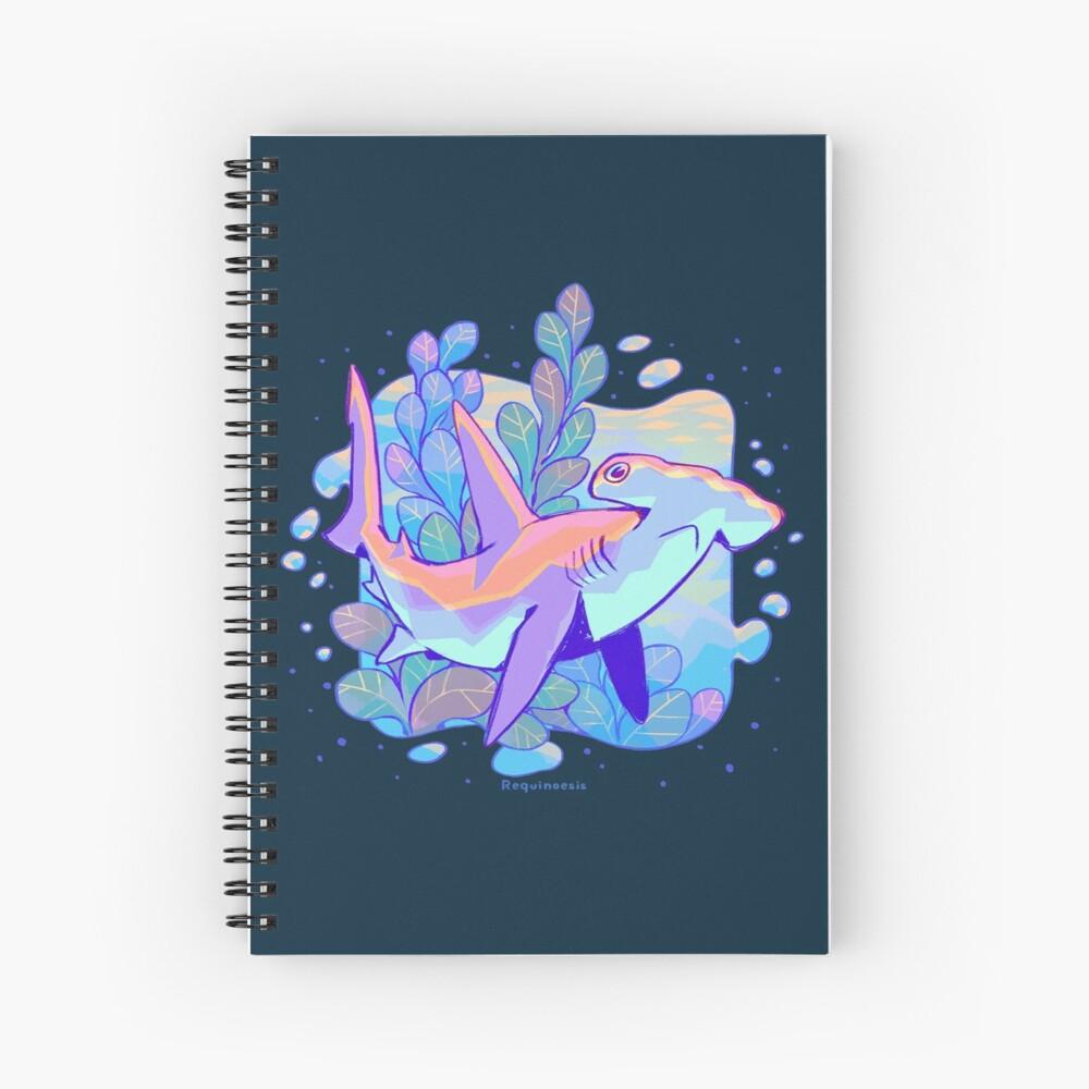Mr. Hammerhead Anatomy Spiral Notebook