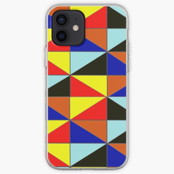 Colorful Grids iPhone Soft Case