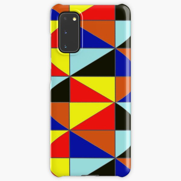 Colorful Grids Samsung Galaxy Snap Case