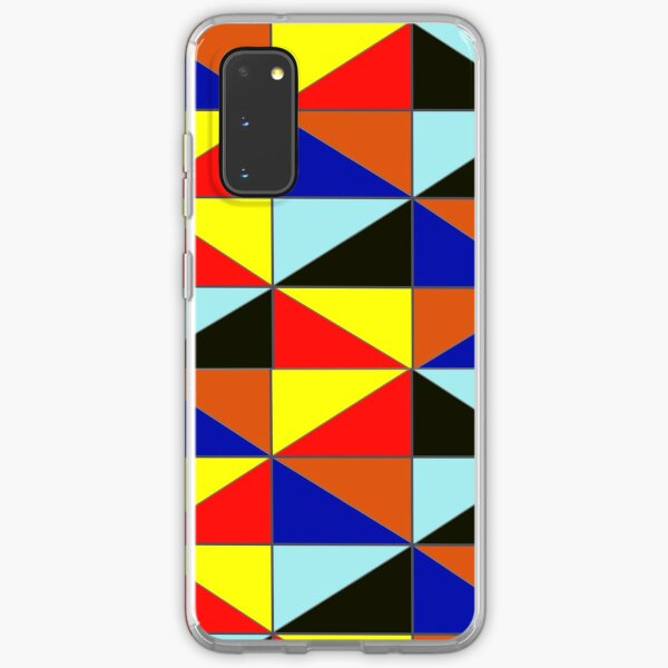 Colorful Grids Samsung Galaxy Soft Case