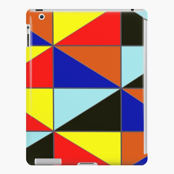 Colorful Grids iPad Snap Case