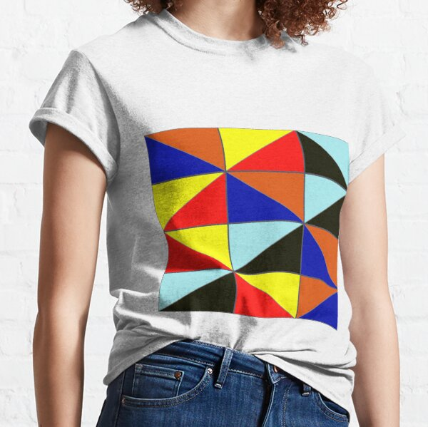 Colorful Grids Classic T-Shirt