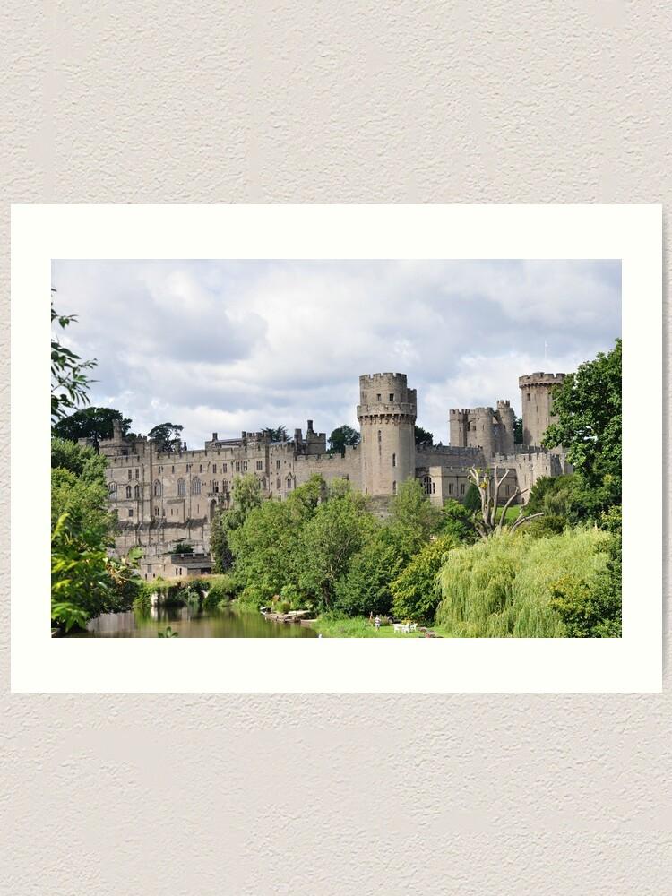 Alternate view of Warwick Castle Art Print