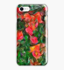 Abstract Tulips iPhone Case/Skin