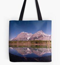 Wedge Pond to Mount Kidd Tote Bag