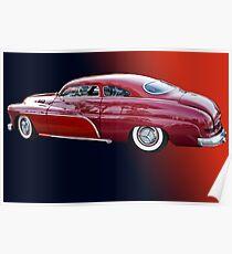 '50 Mercury Lead Sled Poster