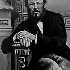 Fyodor Dostoevsky by Ognjen Stevanović