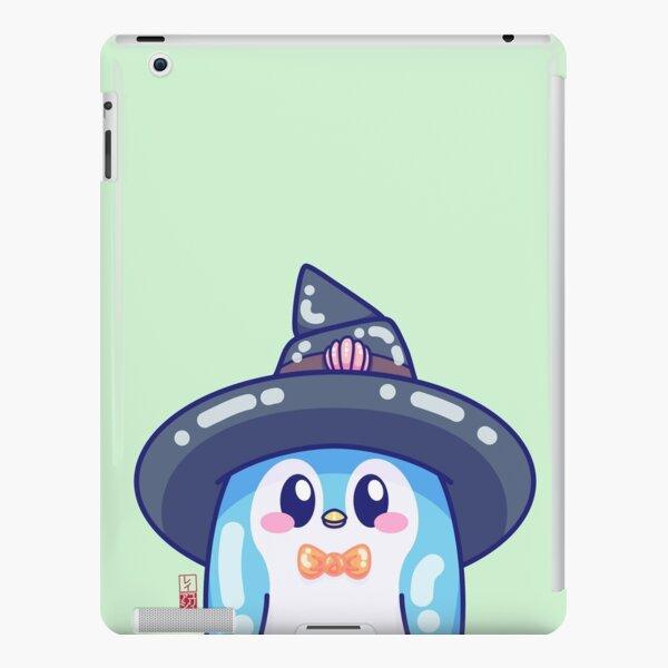 Kawaii Blue Mage Penguin iPad Snap Case