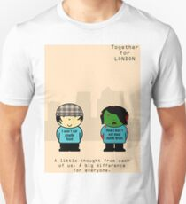 TFL Together For London Zombie Version T-Shirt